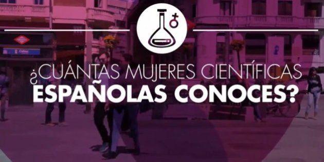 ¿Cuántas científicas españolas conoces? (TEST,