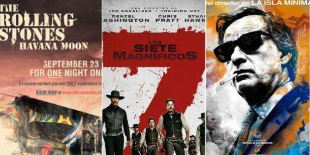 Por qué ver 'Los 7 magníficos', 'El hombre de las mil caras' o 'The Rolling Stones Havana