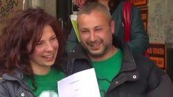 Logran renegociar su hipoteca tras 93 días acampados ante el