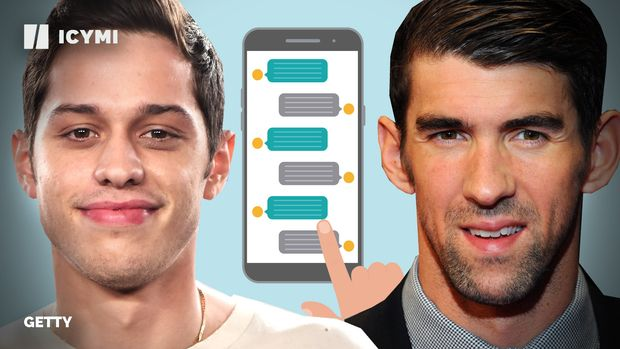 Pete Davidson, Michael Phelps and Mental Health