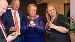 La primera ministra conservadora Solberg quiere a toda la derecha en su próximo