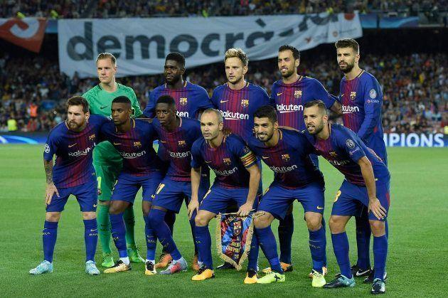 Las comentadas dos pancartas del Camp Nou que