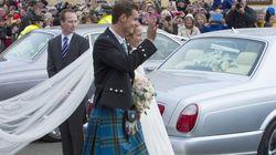 La boda escocesa de Andy Murray