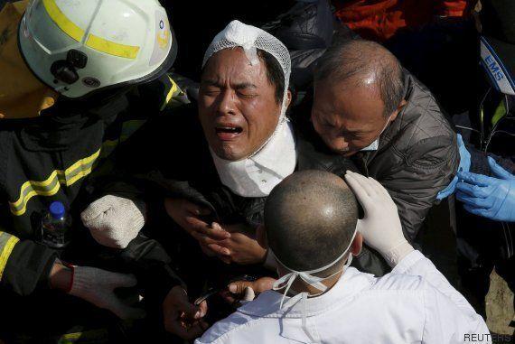 Taiwán acelera el rescate para salvar a posibles supervivientes del terremoto, cuando ya se contabilizan...