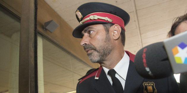 El major de los Mossos d'Esquadra, Josep Lluís