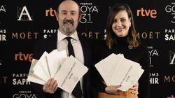 La alegría de los nominados a los Premios Goya