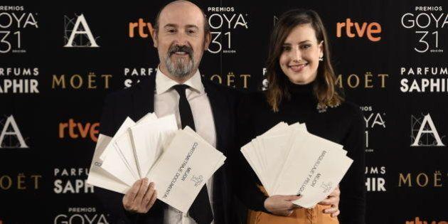 La alegría de los nominados a los Premios Goya 2017, en