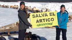 Greenpeace se lleva al Ártico a Anaya y