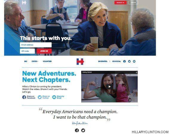 Hillary Clinton confirma oficialmente que peleará por la Casa