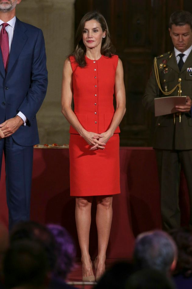 La reina Letizia, en los Premios Nacionales de Cultura 2016 entregados en