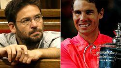 Críticas al líder de Podem Catalunya por lo que ha dicho sobre Rafa