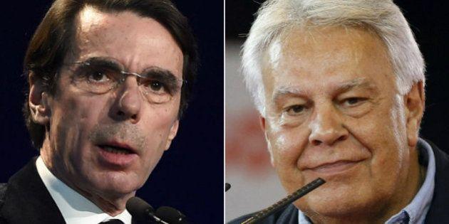 Pablo Iglesias cree que Aznar y González se parecen