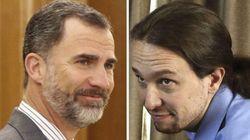 El rey y Pablo Iglesias se verán este miércoles en