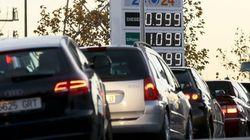La gasolina y los viajes moderan la caída de los