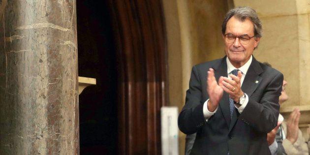 Imagen de archivo del expresidente de la Generalitat, Artur