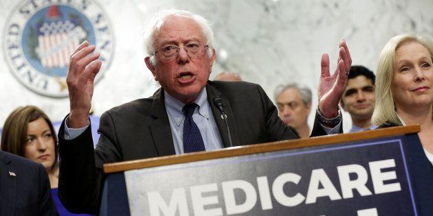 El senador demócrata Bernie Sanders este