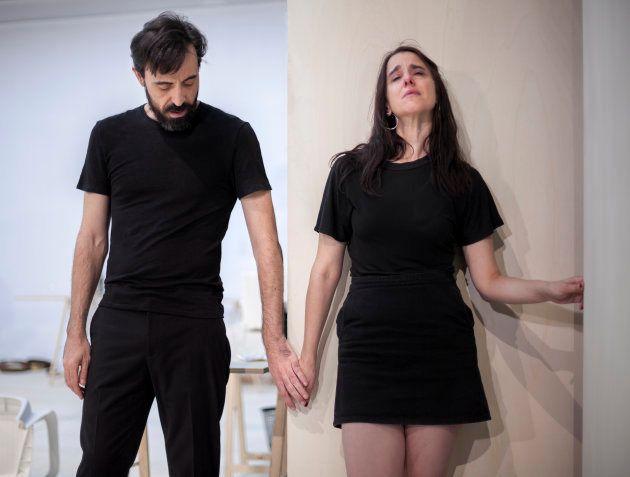 Fernanda Orazi e Israel Elejade en