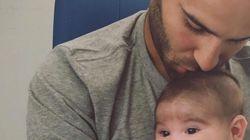 El emocionante mensaje de Jesé Rodríguez en Instagram a su bebé