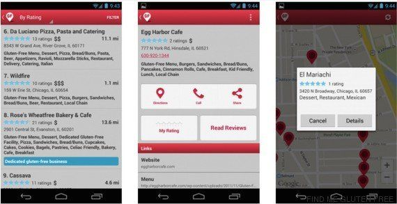 Con estas 'apps' los celíacos se podrán comer el