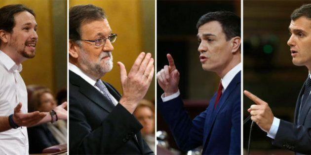 La réplica al discurso de investidura de Pedro Sánchez, en