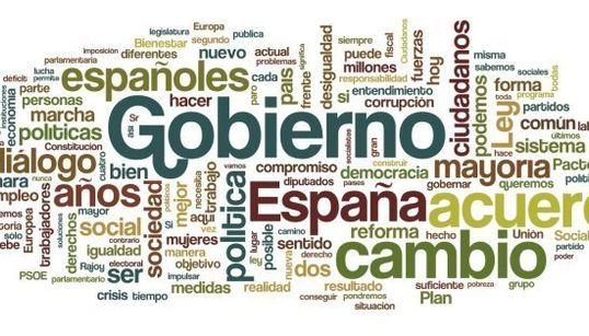 Lo que más ha repetido Pedro Sánchez en su discurso de
