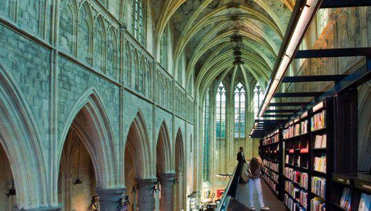 Un paseo por las librerías más bonitas y curiosas del