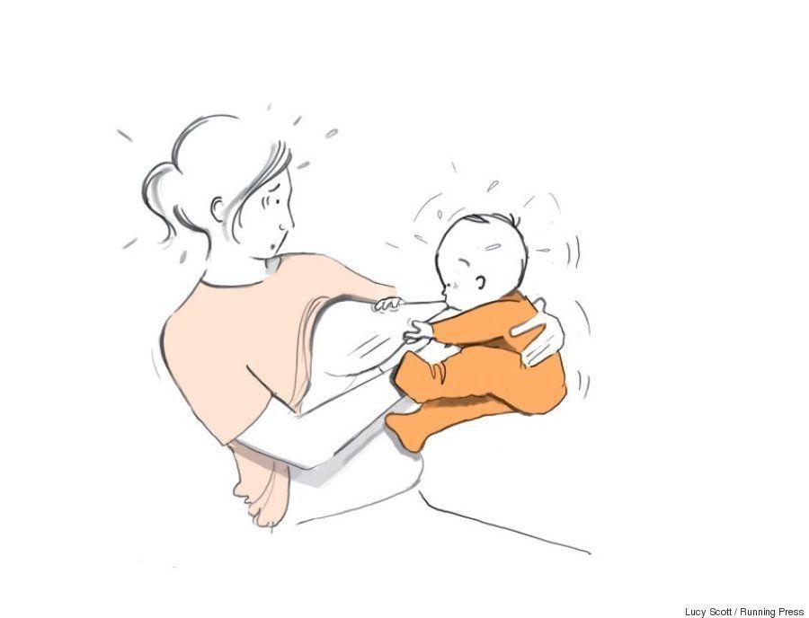 Las viñetas de una madre primeriza muestran lo que nadie cuenta sobre el primer año de