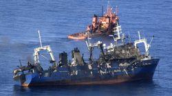 Un pesquero ruso se hunde a 15 millas de Gran