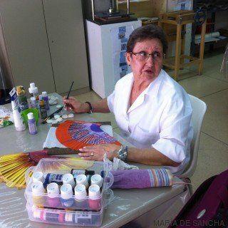 Josefa, 75 años y alumna de la universidad popular: