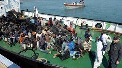 Los 400 inmigrantes ahogados volcaron al ver un barco de
