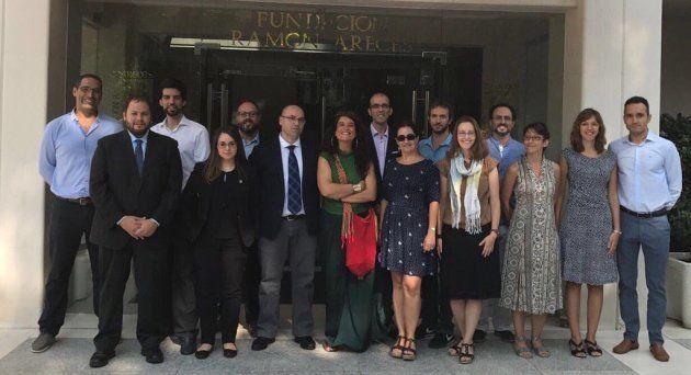 Participantes en la Jornada celebrada en la Fundación Ramón