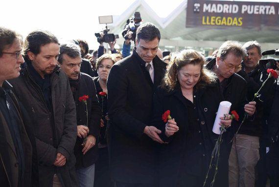 Madrid recuerda a las 193 víctimas del 11-M en el duodécimo