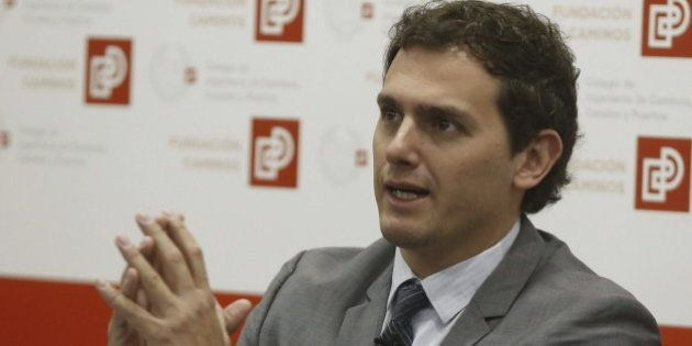 Albert Rivera está a favor de abrir el debate sobre la legalización del