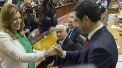 Durán, nuevo presidente del Parlamento andaluz solo con el apoyo del