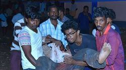 Una explosión de cohetes deja 105 muertos y 350 heridos en un templo