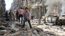 Masacre en Alepo: aviones de guerra matan a siete
