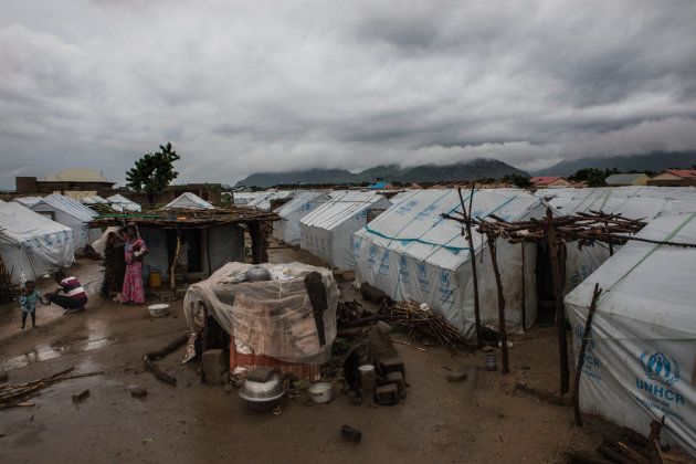 Campamento para desplazados internos en
