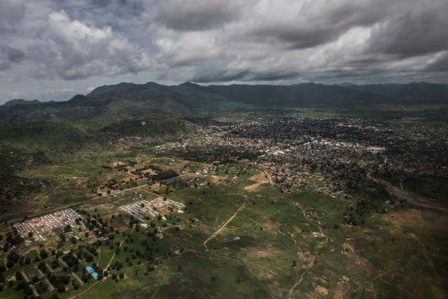 Vista aérea de la ciudad de
