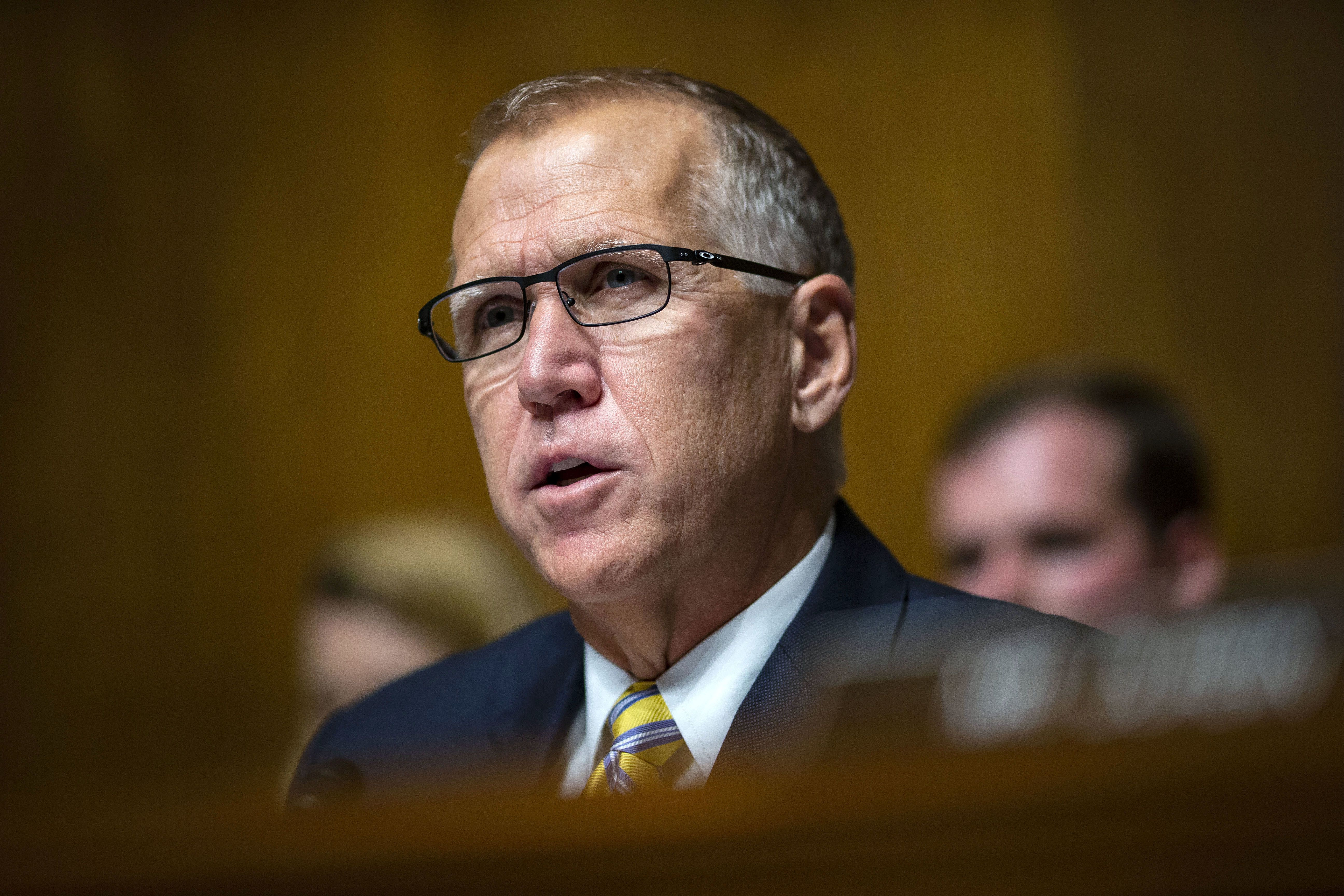 GOP Sen. Thom Tillis Flips On Trump's Emergency Declaration After Opposing It
