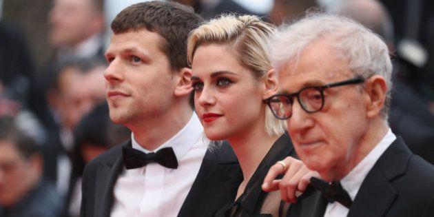 Cara y cruz para Woody Allen en Cannes: el director presenta 'Café Society' rodeado de