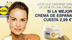 La OCU exige a Lidl que retire la publicidad de su crema CIEN por