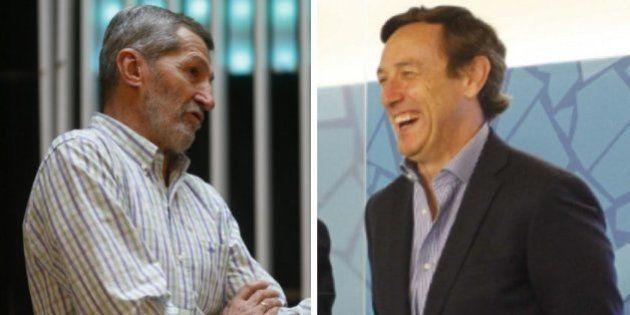 La guerra electoral entre Rodríguez (Podemos) y Hernando