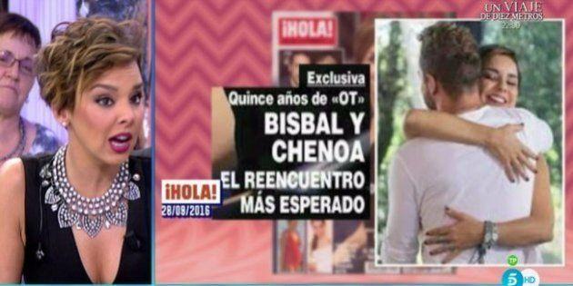 Chenoa, sobre el abrazo con Bisbal:
