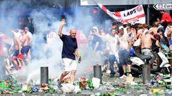 Los 'hooligans' ingleses y los rusos la arman en Marsella