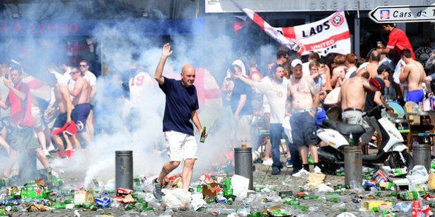 Nuevos enfrentamientos entre 'hooligans' ingleses y rusos y Policía en Marsella