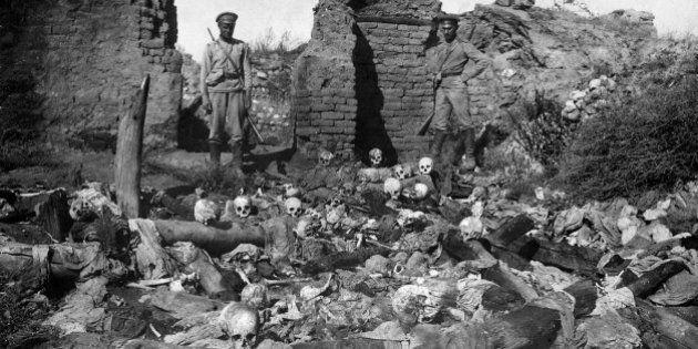 Se cumplen cien años del genocidio armenio por parte de