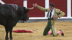 El torero Juan José Padilla responde a las críticas por portar una bandera