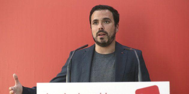 El secretario general de Izquierda Unida, Alberto