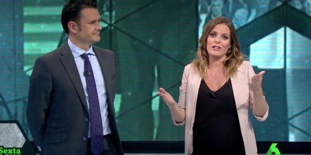 Andrea Ropero se despide unas semanas de 'LaSexta Noche' por su