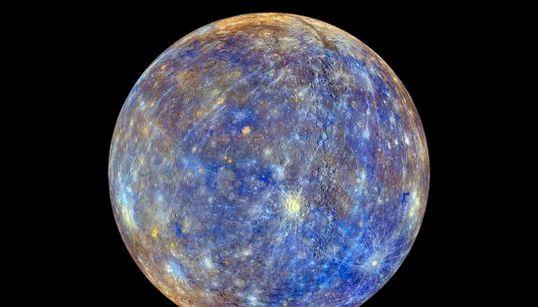 Mercurio, como nunca lo habías
